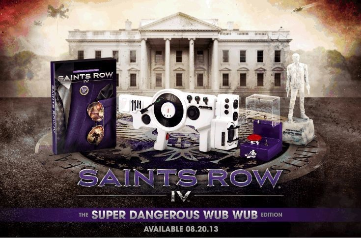 Saints Row IV Super Dangerous Wub Wub Edition revealed