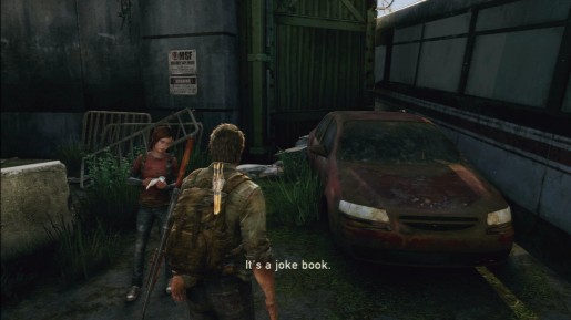 The Last of Us - Ellie's Joke