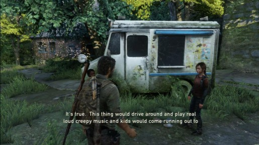 The Last of Us- Ice Cream Truck
