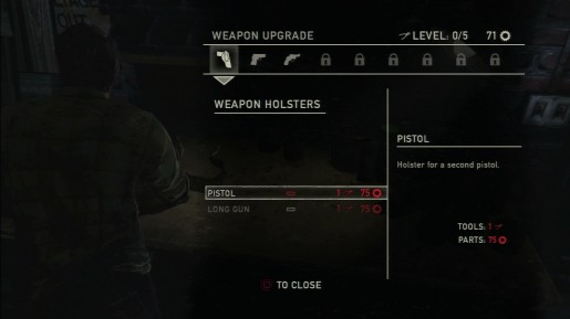 The Last of Us - Workbench Weapon Upgrade