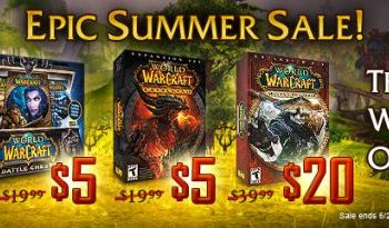 World of Warcraft summer sale begins this week