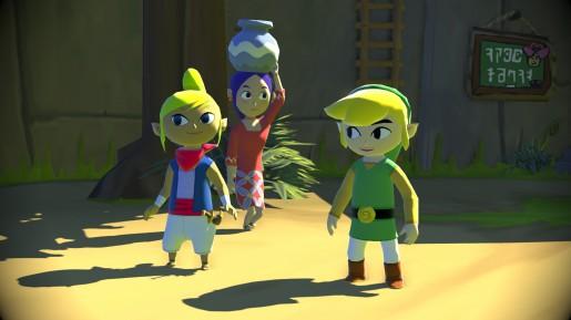 Zelda Wind Waker HD E3 2013