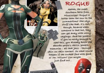 Deadpool Shares the Spotlight With Rogue, Psylocke And Domino