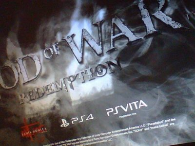 god of war ps4 and ps vita