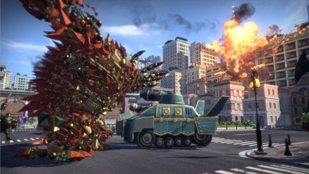 Knack features two-player co-op mode
