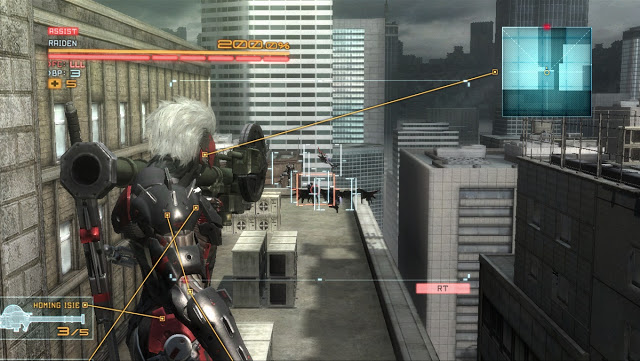 Metal Gear Rising: Revengeance Zapping To The PC