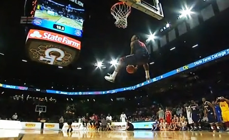 NCAA Slam Dunk Contest Champion Helps Create NBA 2K14