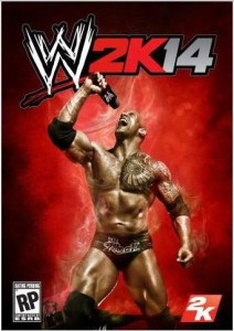 official wwe 2k14 cover