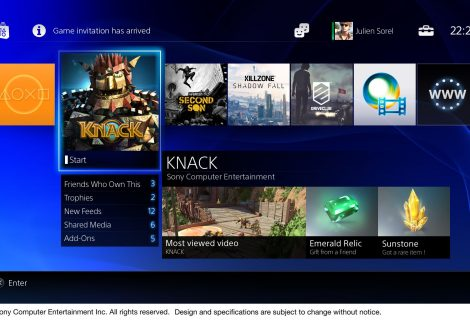 Exclusive PS4 Interface Video Released
