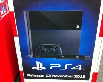 Another Rumored PS4 Release Date