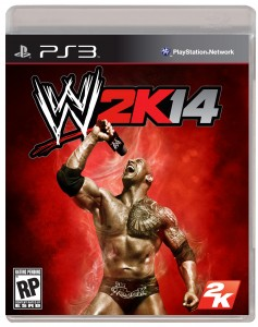 the rock wwe 2k14 cover