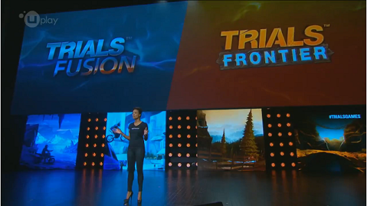 E3: 2013 Ubisoft Announce Trials Fusion and Trials Frontier