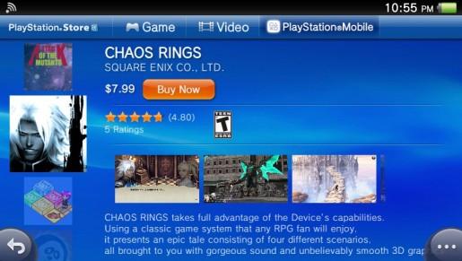 Chaos Rings PS Vita