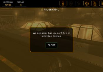 Playing Deus Ex: The Fall on Jailbroken Devices Will Disable Your Guns