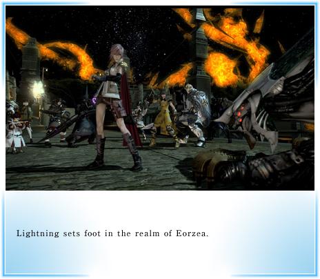 Final Fantasy XIV will have Lightning from Final Fantasy XIII