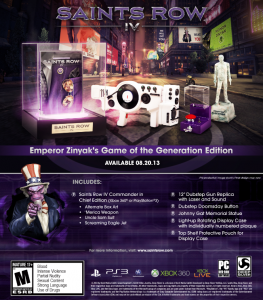 Game of the Generation - Saints Row 4
