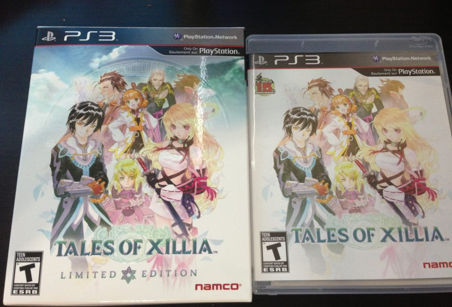 Tales of Xillia Limited Edition Unboxing Gallery