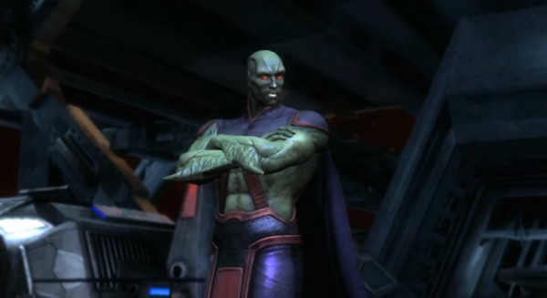 Martian Manhunter coming to Injustice: Gods Among Us