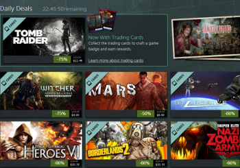 Steam Summer Getaway Sale Day 3 - The Witcher 2, Tomb Raider and more