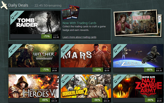 Steam Summer Getaway Sale Day 3 – The Witcher 2, Tomb Raider and more