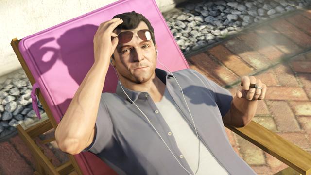 New 'Grand Theft Auto V' Screenshots: The Fast Life