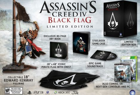 Assassin's Creed 4: Black Flag Limited Edition Unveiled