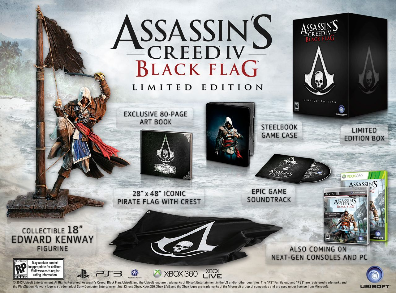 Assassin S Creed 4 Black Flag Limited Edition Unveiled