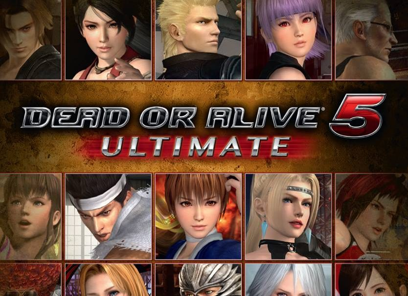 Dead or Alive 5 Ultimate Cover Reveals Itself