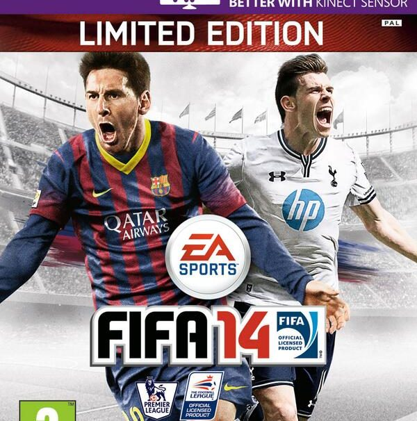 Gareth Bale And Messi Make FIFA 14's UK Cover Art