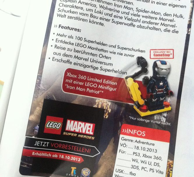 LEGO Marvel Super Heroes Release Date Revealed?