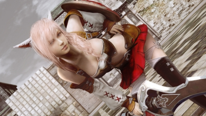 Lightning Returns: Final Fantasy XIII Has Cleavage and Alcohol