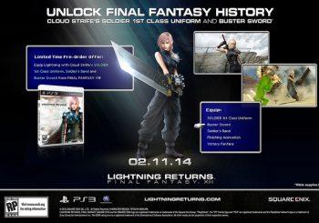 Get Final Fantasy VII DLC With Lightning Returns: Final Fantasy XIII Pre-Order