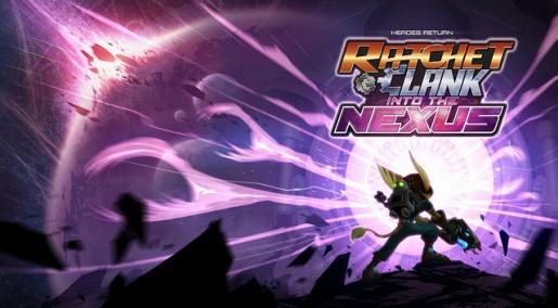ratchet & clank: into the nexus logo
