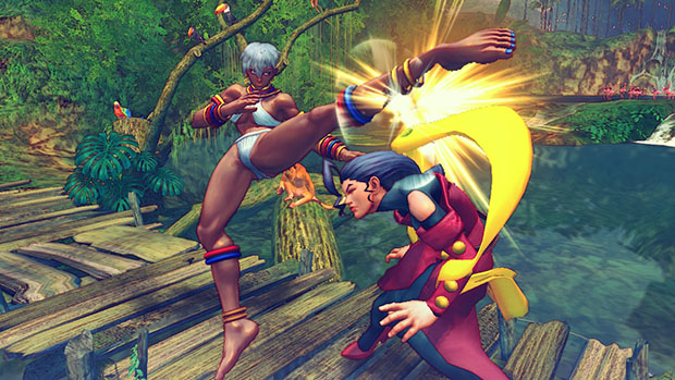 Ultra Street Fighter IV Stages Are Recycled