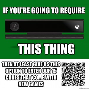 xbox one kinect scan