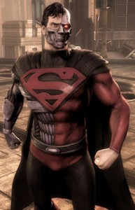 Injustice: Gods Among Us Cyborg Superman