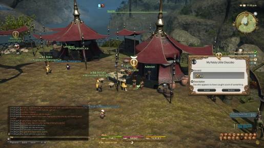 Final Fantasy XIV - Chocobo in Battle 01