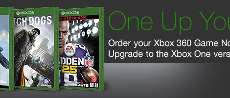 Amazon Offering Xbox 360 to Xbox One Game Upgrade