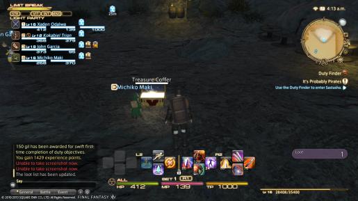 Final Fantasy XIV End Treasure