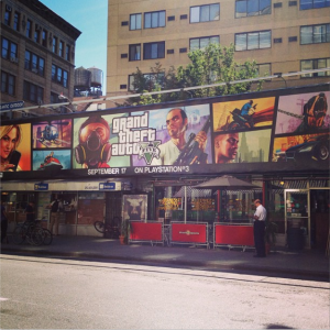 Grand Theft Auto V ps3 ad