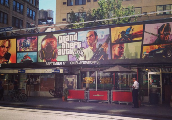 Grand Theft Auto V Advertised As A PS3 Exclusive