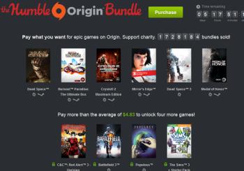 EA's Origin Humble Bundle Earns Over $8 Million