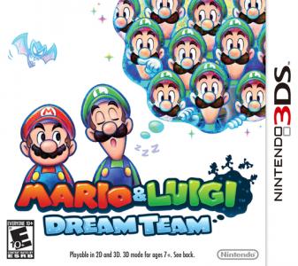 Mario & Luigi Dream Team Featyred