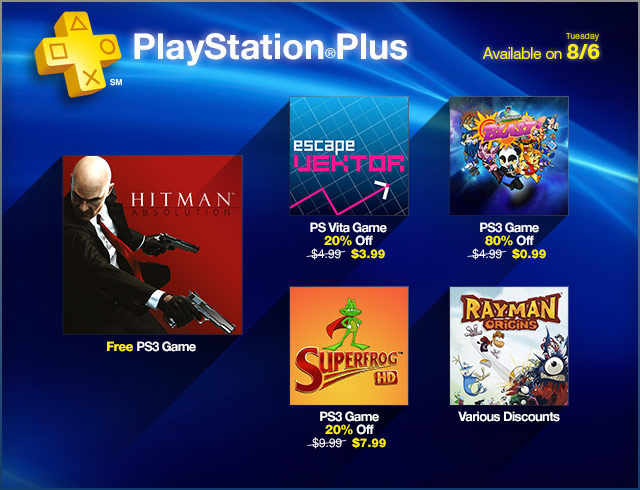 Free On Ps Plus This August Hitman Absolution Machinarium And More