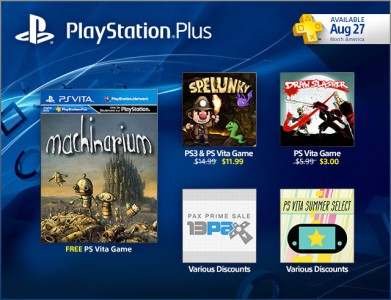 PlayStation Plus - Machinarium