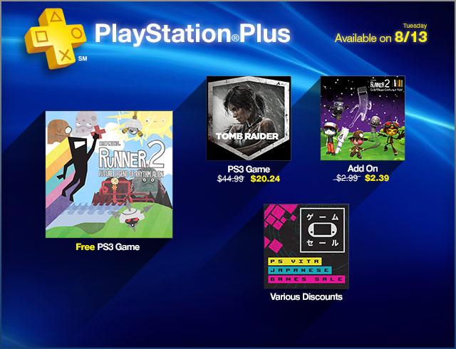 Runner 2 free on PlayStation Plus this week