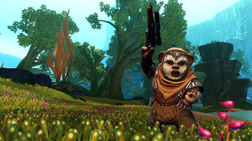 SWTOR Game Update 2.3 – How to get Treek, the Ewok companion