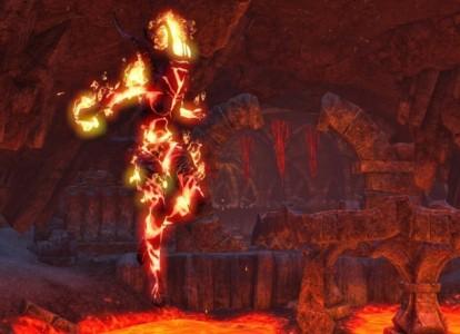 The Elder Scrolls Online Flame Atronach