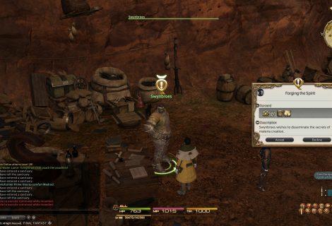 Final Fantasy XIV - Spiritbond on Equipments Detailed