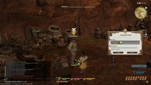 Final Fantasy XIV - Spiritbond and Materias